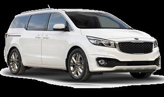 PVAR 9 Seater Car Rental Automatic